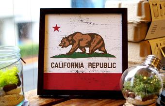 サインフレーム カリフォルニアリパブリック