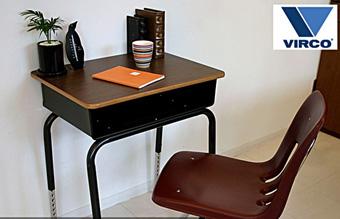 TR-4229 Desk VIRCO