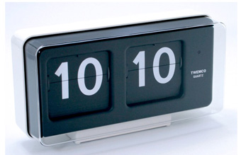 BQ-50 WALL&TABLE CLOCK ホワイト BQ-50